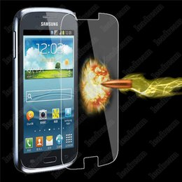 Wholesale Core I8262 - Explosion Proof 9H 0.3mm Screen Protector Tempered Glass for Samsung Core i8262 i8260