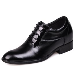Wholesale Men Height Elevator Shoes - How to Buy Cheap Custom Shoes Online New Arrival Fashion Comfortable Elevator Italian Shoes for Men