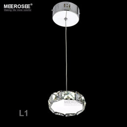 Wholesale Porch Style - European Style LED Crystal Pendant Light Fitting Various Shapes LED Hanging Drop Lamp for Porch AisleHallway Price for 1 pc Only