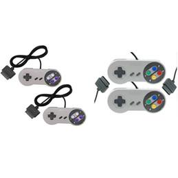 10 tasti di gioco Gaming 16 bit Controller Gamepad Pad Joystick per SFC Super Nintendo SNES System Console Control Pad all'ingrosso da controller di gioco usb fornitori