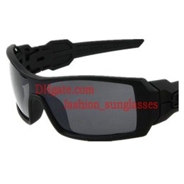 Wholesale Super Sun Glasses - Low Price Super Cool Men Outdoor Sports Cycling Wind Goggle Sunglasses Black Frame Gray Resin Lens Designer Sun Glasses Exceptional Quality