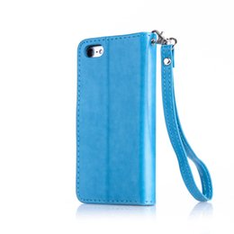 Wholesale Iphone5 Leather Pouch - Flip Case for Apple iPhone 5 5S SE iPhone5 iPhone5S iPhoneSE Retro fashion Leather Diamond Phone Case for Apple i Phone 5 5S SE