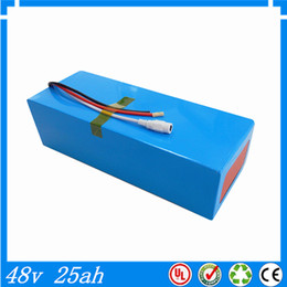 Wholesale High Volt Battery - High capacity DIY 48 volt li-ion battery pack with 3A charger and BMS 48v 25ah lithium battery pack