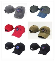 Wholesale Gold Meat - Hot NEW Fashion rare I NEED MY SPACE NASA Meat Ball 6 god Embroidered Cotton dad hat snapback Baseball cap i feel like pablo casquette