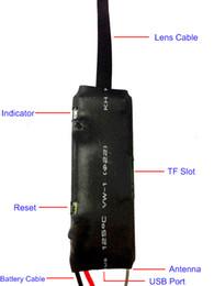 Wholesale Ccd Video Camera Module - HD 720P CCD Video Camera P2P Internet IP Remote Monitoring Wifi Module Screen Shots Video Recording Listening
