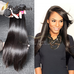 Wholesale Peruvian Virgin Hair 32 Inch - Factory Wholesale Brazilian Hair Grade 7A High Quality Silky Straight Indian Hair BundlesMalaysian Peruvian Virgin Hair Free Shipping Bella