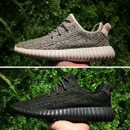 Wholesale Buy Leather Shoe - Free Fast Deliver 350 Boost, Buy Discount Boost 350 Kanye Sneakers Shoes Turtle Dove,Pirate Black,Moonrock and Oxford Tan for Men & Women