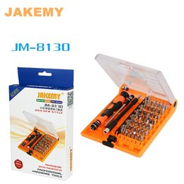 Wholesale Mp4 Drivers - universal multitool screwdriver set JM-8130 Magnetic Screw driver kit repair for mobile cell phone compute Mp4