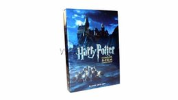 Wholesale Discs Films - 10sets lot Harry The 8-Film Collection 8 Disc DVD Set 8DVD US Version Factory Sealed New Released DVD Movies TV Show TV Series DVDS