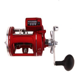 Wholesale Red Baits - Right Handle11+1BB Bearings Fishing Reel Wheel with Count Right 3.8:1 Bait Casting Fishing Reel Fishing Line Counter Trolling