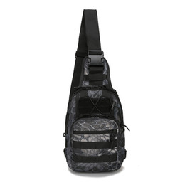 Wholesale military tactical camping shoulder bag - Outdoor Sport Nylon Tactical Military Sling Single Shoulder Chest Bag Pack camping hiking Backpack climbing bag