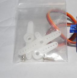 Wholesale Gear Servo Wholesale - 20pcs lot SG90 9g Mini Micro Servo Steering Gear Align Airplane Car Motors For RC Model Helicopter