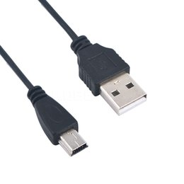 Argentina Venta al por mayor 2017 USB 2.0 un macho a mini 5 Pin B cargador de datos Cable de carga cable adaptador para MP3 MP4 teléfono cámara digital de alta calidad supplier mini digital charging cable Suministro