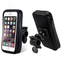 Wholesale Iphone Bicycle Bag - Touch Screen Bicycle Bike Bag Waterproof Pouch with Bike Phone Mount Holder for iphone 7 6S