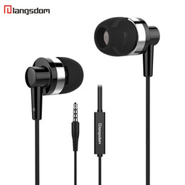 Deutschland Langsdom JD89 In-Ear Kopfhörer Super Bass 3,5 MM Kopfhörer mit Mikrofon Geräuschisolation Kopfhörer für iPhone Samsung cheap super bass microphone Versorgung