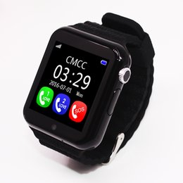 Wholesale Can Safes - V7K Smart Watch with GPS camera tracker for kid safe SOS Call Location Devicer phone watch can record sport state