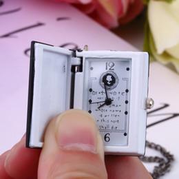 Wholesale Vintage Jewelry Book - Men Women Hot Sellers Jewelry Vintage Unique Death Note Book Quartz Pocket Watch Pendant Necklace Gift Wholesale Sale