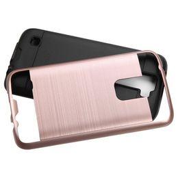 2019 k4 telefon Hybrid Protector Stoßfest Soft Hard Armor MARS Telefon Fall für LG Optimus Zone 3 K4 / Spree VS425 Detail Paket 30 STÜCKE Jede Farbe Mindestens