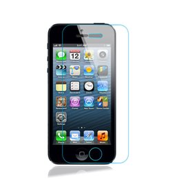 Wholesale Tempered Glass For Mobiles - Tempered Glass for iPhone 5 5se 5c 5s Screen Protector Tempered Film For iPhone Mobile Phone Screen Anti-scratch