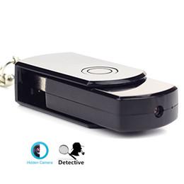 Wholesale Drivers Spy - 32GB 720P Mini Disk Flash Driver Hd Digital Video Hidden Camera Mic Spy Cam DVR USB Card Recoder