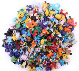 Wholesale mix toys - 144pcs Styles mixed 2016 new fashion Poke Figures toys Monster Action Figures Multicolor 2-3CM free ship
