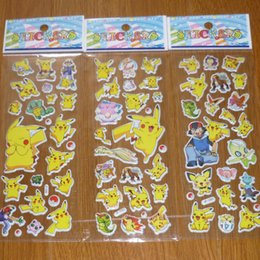 Wholesale Toys Chart - Fashion Pet Poke Stickers Cute Cartoon Wall Stickers Toy 3D Stickers Craft Scrapbook Fridge Sticker Wallpaper Free DHL L1