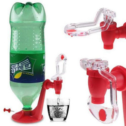 Wholesale Soda Water Dispense Gadget - Saver Soda Dispenser Bottle Coke Upside Down Drinking Water Dispense Machine Party Supplies Kitchen Gadgets Soda Tap OOA2497