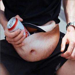Ladrón ladrones online-2017 Nuevo diseño Creativo para hombre bolsa de ladrón prevención de acoso bolso de la cintura invisibilidad vientre panza bolsas bolsa de deporte