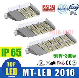 Wholesale Industrial Cree Led - Factory direct sale led street lighting 50w 100w 150w 200w 250w 300w led cree street light led road light garden lamp meanwell driver