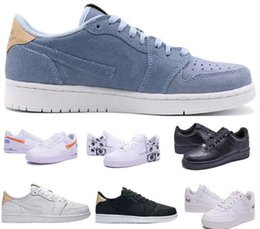 Wholesale China Forces - Latest Force Casual Shoes Men Man Mens China Retro 1 One Low Leisure Loafers Flat Blue Zapatilla Hombre Oxford Replica Shoes Size 7-12