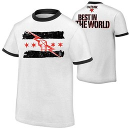 Wholesale Punk Men Shorts - Men's T-Shirt cm punk best in the world t-shirt