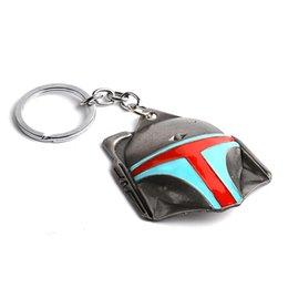 Wholesale Metal Animal Masks - Hot Selling Keychain Of movie Star Wars Keychain Alloy Mask Metal Key Rings For Women&Men Chaveiro Keyringzj-0903517