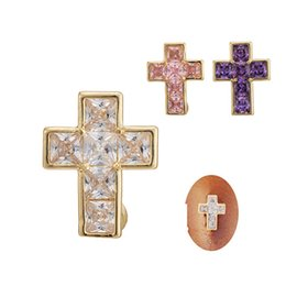 Wholesale Belly Rings Sale - Women sex gothic belly rings stainless steel europen hot sale cross-shaped piercing belly button rings body jewelry