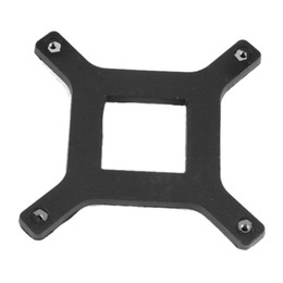 Wholesale amd cpu sockets - Wholesale- 2 Pcs CPU Heatsink Fan Bracket Backplate for Socket LGA775 Motherboard