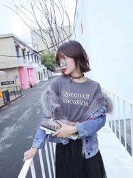 Wholesale Mink Fur Coat Hood - Women Large Mink Fur Collar Hooded Long Outerwear Coats Real Mink Fur Lining Parka