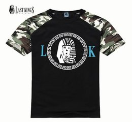 Wholesale Glow Tshirt - Summer Men T Shirts LK Top Tees Glowing Swag Short Sleeve Cotton T-shirt O-Neck Casual Print Tshirt Plus Size Lastkings T-Shirts