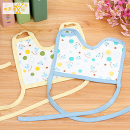 Wholesale- 5pcs Baby Boy Feeding Accessories Apron Bandana Bibs Infant Scarf Kerchief Slabber Pinafore For Babies Girls Bib For Children Coupon