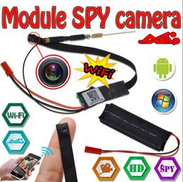 Wholesale H 264 Dvr Module - Spy Hidden Camer Wifi 1080p HD H.264 Video Z7S wifi DIY Module Mini DVR Wireless Surveillance camera Home Security P2P Remote monitor
