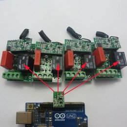 Arduino пульт дистанционного управления UART PC USB AC220V РФ беспроводной контроллер реле PT2262 от