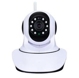Wholesale Home Video Surveillance Systems Wireless - HD 720P Wireless IP Camera WIFI Onvif Video Surveillance Alarm Systems Security Network Home IP Camera Night Vision