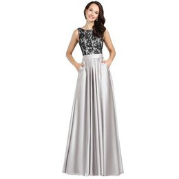 Wholesale Attractive Pictures - 100% High Quality Long Mother's Dresses With Lace Attractive Open Back Wedding Mother Formal Dress Custom Made