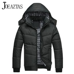 Wholesale Skiing Jacket Parka - Fall-New 2016 men winter coat famous brand cotton-padded parka waterproof ski suit thickening down jacket lxy208 free shipping