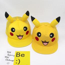 Wholesale Kids Snapback Hats Wholesale - Hot cute cartoon kids hats snapback cap for kids Adults canvas and mesh baseball hat Fashion sports headdress
