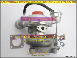 Argentina Turbo RHF4 8980118923 VIFE 8980118922 Turbocompresor para ISUZU D-Max para Holden Rodeo Colorado Gold series 3.0TD Fe-1106 3.0L D Suministro