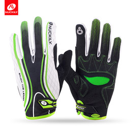 Wholesale Nuckily Cycling - Nuckily New Design Touch Screen Full Finger Cycling Gloves For Adults Pd 06