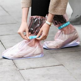 Wholesale Plastic Shoe Rain Covers - Wholesale New anti - skid shoes cover of outdoor rain shoes cover super waterproof High rain cover A0318