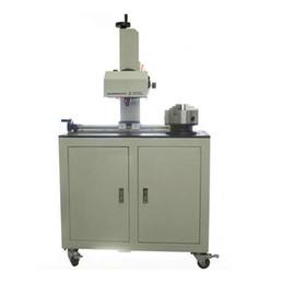 Marca de aluminio online-Máquina neumática automática de la marca QD08, máquina de codificación de aluminio, impresora de la etiqueta, máquina de grabado de las piezas de metal, tipo horizontal
