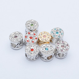 Wholesale Factory Outlets Europe - 2016 latest fashion trends in Europe and America DIY with macroporous beads multicolor diamond factory outlets