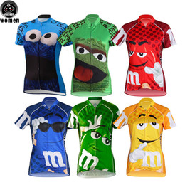 Wholesale Funny Girl Shirts - Multi Types Women Customized NEW Cartoon Funny Bike mtb road RACE Team Funny Pro Cycling Jersey Shirts & Tops Clothing Breathing Air JIASHUO