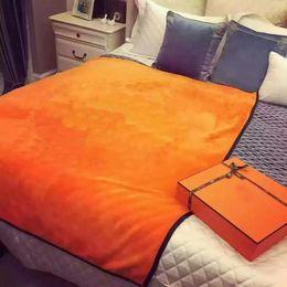 Wholesale Customs Weaves - 2018 brand new orange flannel fleece throw blanket 130 x 150 cm custom logo orange shawl airplane sofa snap blanket